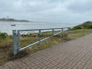 STEEL CAR PARK BARRIER SWING GATE (60) Various size/finish - inc VAT