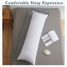 Full Body Pillow Insert, Soft Large Long Memory Fiber Bed Pillow Adults 24x54 in