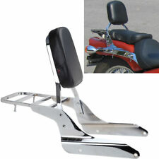 Backrest Sissy Bar Luggage Rack For Honda Shadow VT600C 1999-2007 VLX600 99-07