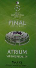 VIP Hospitality Pass UEFA CL Finale 2015 Juventus FC - FC Barcelona (Atrium)