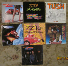 LOT of 7 ZZ TOP 45rpm Picture Sleeves (only)