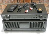 Technics SU-C800U - SE-A800S Integrated Stereo Pre & Power Amplifiers + Remote