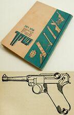 1940 Palestine Weapon Manual Israel Hebrew Gun Pistol Revolver Colt Webley Rifle