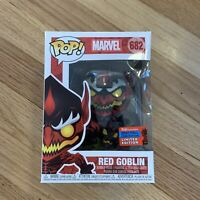 Funko Pop! Red Goblin New York Comic Con 2020 Exclusive 682 NYCC - DAMAGED BOX