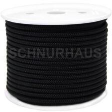 5mm PP 400daN Polypropylenschnur 50m schwarz SCHNURHAUS Mehrzweckseil rope, cord