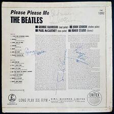THE BEATLES 'Please Please Me' album signed by Paul McCartney & John Lennon