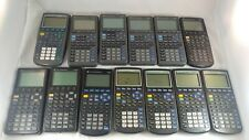 Lot of 12 Texas Instruments Graphing Calculators 82 83+ 85 89 As Is Parts Repair
