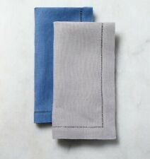 "SFERRA FESTIVAL 20"" SQUARE PURE LINEN DINNER NAPKINS IN SET OF 4"