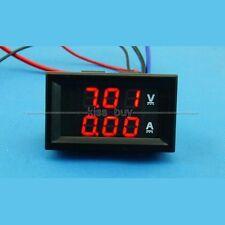 DC 100V/200A Dual display Ammeter Voltmeter Digital Amp Volt Meter 12V 24V R-R