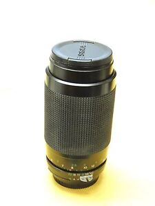 Vivitar 70-300mm 4.2-5.8 MC Macro Focusing Zoom Lens AIS, Nikon F Mount