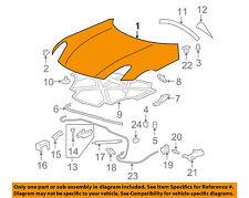 Pontiac GM OEM 06-09 Solstice-Hood Panel 89025309