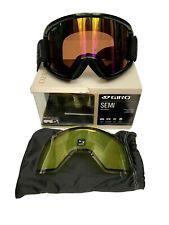 New listing Giro Semi Goggles Adult Medium Extra Lens Ski Snowboard Rose Rainbow Lens New