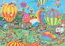 Jumbo Jan van Haasteren The Balloon Festival Jigsaw Puzzle (1000 Pieces)