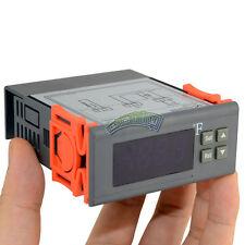12V 10A Digital F Fahrenheit Temperature Controller Heat Cool Thermostat Sensor