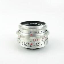 Altix Meyer-Optik Görlitz Alu Trioplan 1:2.9/50 red V Objektiv lens