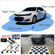 Bird View Panoramic System seamless 4Camera Car DVR Recording Parking Rear View
