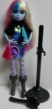 MONSTER HIGH SCAREMESTER ABBEY BOMINABLE + ACCESSORIES FREE U.S. SHIPPING