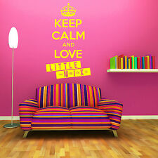 KEEP CALM AND LOVE LITTLE MIX Wall art room Sticker music decal FAST DISPATCH