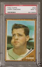 1962 Topps #583 LARRY OSBORNE Tigers PSA 9 Mint