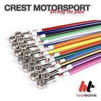 Renault Sport Clio II 172/182/Cup HOSE TECHNIK Stainless Steel Brake Lines