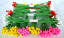 2000 STAMEN POLLEN FLORAL WIRE STEM FLOWER CRAFT ARTIFICIAL WHOLESALE EXPRESS