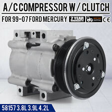 AC A/C Compressor for Ford Freestar Monterey 3.8L 3.9L 4.2L 2004 2005 2006 2007