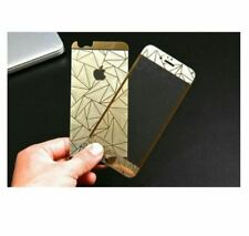 IPhone 7g 3D Diamond Tempered Glass - GOLD