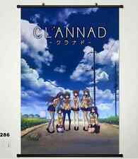 Home Decor Anime Japanese Clannad POSTER WALL Scroll customize whole role 286