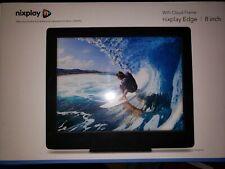 Nixplay Edge 8-Inch Wi-Fi Cloud Digital Photo Frame with Hi-Res Display (Black)