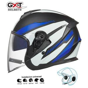 GXT bluetooth Motorcycle helmet with Bluetooth headset and wireless speaker