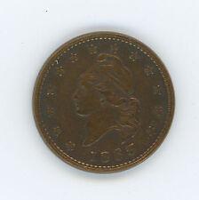 1863 Army-Navy Liberty Head Civil War Token, Poss. Obv. 7, Rev. 315, Ex. Fine