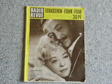 Radio Revue 6, 1960, Giulietta Masina, Hannes Messemer on Cover, very rare!