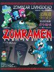 Zomramen, Blue Ramen with Salt Soup, Instant Noodle, Creepy & Delicious, Japan