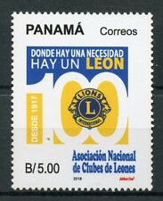 More details for panama 2018 mnh lions club international 100 years 1v set stamps
