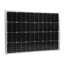 Solarmodul Solarpanel 100W 12V Monokristallin Camping Wohnwagen Wohnmobil FU