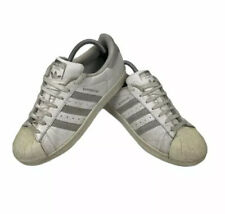 Adidas Originals Superstar Trainers White & Silver 7 Women's