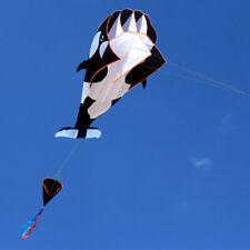 3D Wal Kinder Drachen Rahmenlose Outdoor Flugdrachen DrachenfliegenGeschenk Y7J1