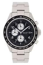 Uhren Herren Gigandet Racetrack Chronograph Edelstahlarmband  Schwarz G24-001