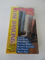 Christy Lanes Line Dancing (VHS, 1992) BONUS FUNKY/POP INSTRUCTION Step-By-Step