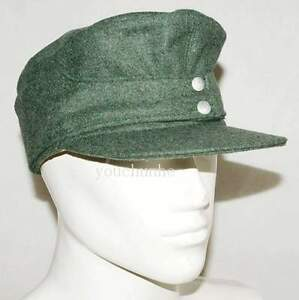WWII WW2 German WH EM M43 Wool Panzer Field Cap XL - GM031