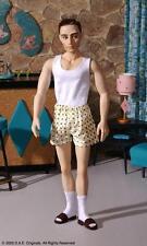 "D.a.e. Originals ""IN A SNAP"" MONTY anatomically correct fashion doll NRFB w COA"