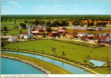 Upper Canada Village Morrisburg Ontario ON Birdseye Unused Vintage Postcard D44