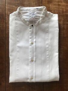 Turnbull & Asser 1950s Pique Fronted Dress Shirt