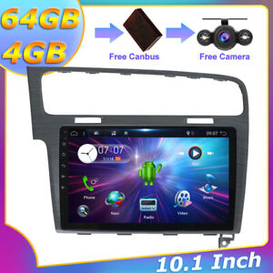 "10.1"" Autoradio Für VW Golf 7 VII Android 10.0 Navigation GPS CarPlay 4GB+64GB"