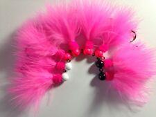 steelhead marabou jigs pink 1/8 ounce