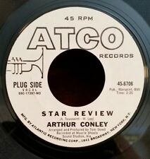 "Arthur Conley Atco 6706 ""STAR REVIEW"" (GREAT SOUL)     PROMO  /   MAKE OFFER"