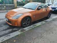 Nissan 350z GT Automatic, Bronze, Import convert to UK spec.