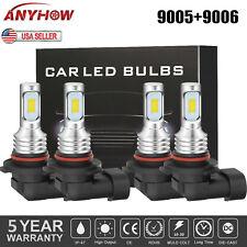 Combo Led Headlight Bulb 9005 9006 for Honda Civic 2004-2013 High Low Beam 6000K (Fits: Acura Vigor)