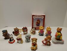 Hallmark Merry Miniatures lot of 13 Valentine's Figures