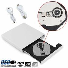 Externes DVD Laufwerk USB 2.0 Brenner CD DVD-RW Brenner Slim für PC Laptop Mac